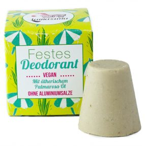 Lamazuna - Festes Deodorant mit Palmarosa Öl