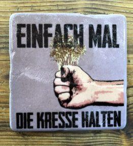 FLIESE_einfach_mal_die_Kresse_Halten