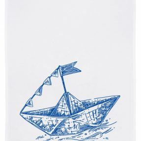 Geschirrtuch_Papierschiffchen