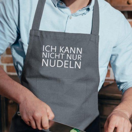Küchenschürze_Ich kann nicht nur Nudeln