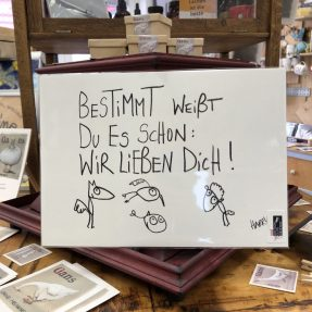 """eDITION GUTE GEISTER - Kunstdruck """"Wir lieben dich"""""""