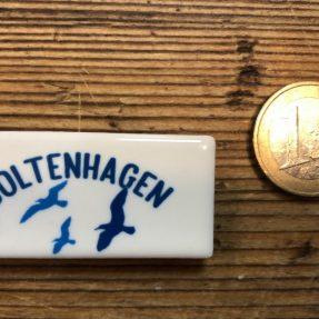 "Henri Banks - Minimagnet - ""Boltenhagen Möwe"""