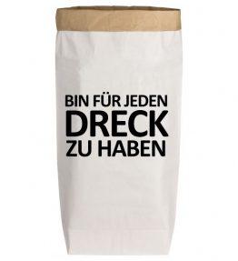 Paperbag_Bin für jeden Dreck
