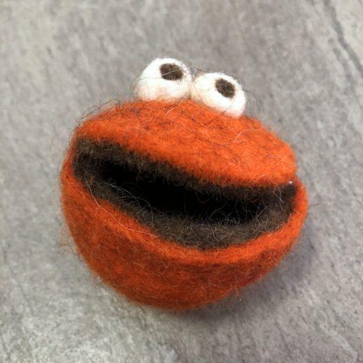 Quaki klein orange