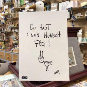 "eDITION GUTE GEISTER - Kunstdruck ""Wunsch frei"""