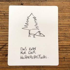 """eDITION GUTE GEISTER – Magnet """"Weihnachtsfuchs"""""""
