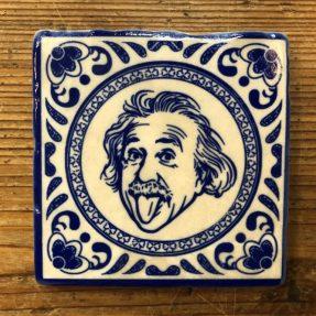 Henri Banks - Marmorfliese Albert Einstein