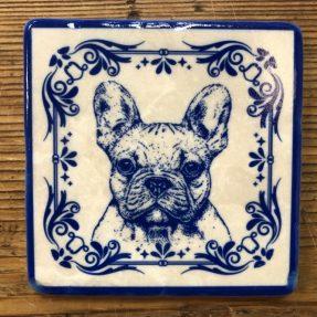 Henri Banks - Marmorfliese Französische Bulldogge