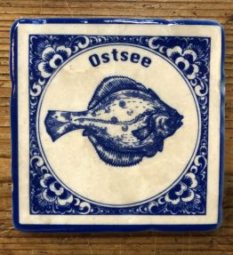 Henri Banks - Marmorfliese Ostsee Scholle