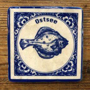 "Henri Banks - Marmorfliese ""Ostsee Scholle"""