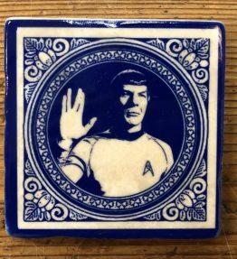 Henri Banks - Marmorfliese Spock