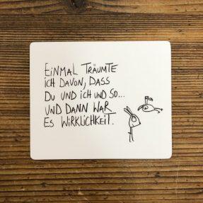 """eDITION GUTE GEISTER – Magnet """"Du und ich und so.."""""""