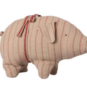 Maileg - Pig with stribes, small