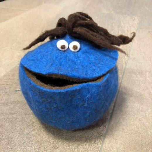 Quaki groß blau