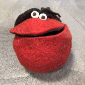 Quaki groß rot