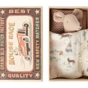 """Maileg - """"Little sister Mouse"""" in Matchbox"""