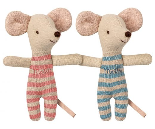 maileg - Baby mice, twins in box 02