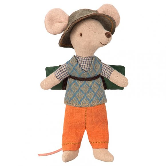 maileg - Hiking mouse, Big brother 01