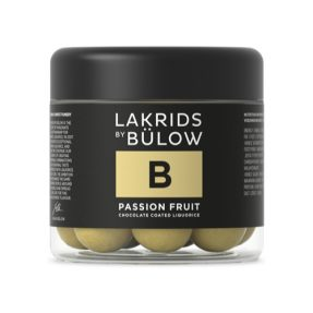 "Lakrids by Bülow - B - ""Passion Fruit"" Small 125g"