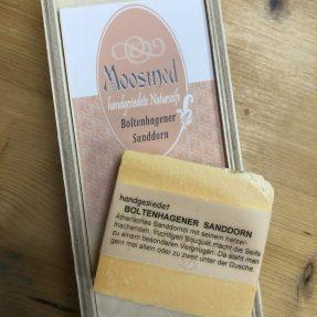 Moosmed Naturseife- Boltenhagener Sanddorn