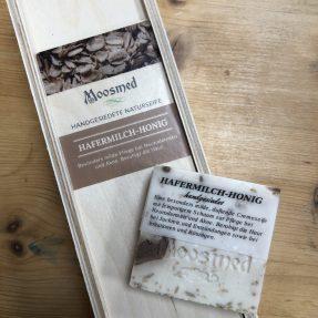 Moosmed Naturseife - Hafermilch-Honig