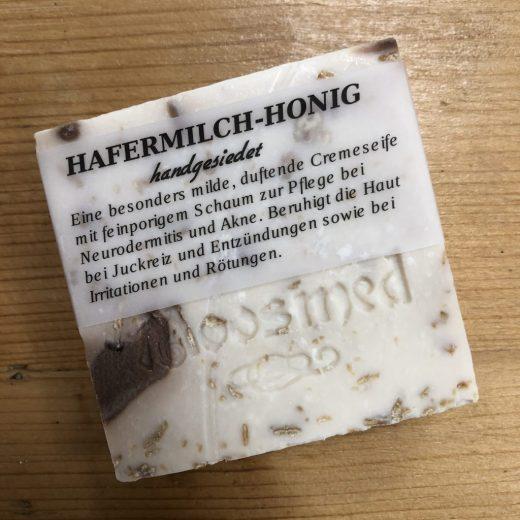 Moosmed Naturseife - Hafermilch-Honig2