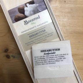 Moosmed Naturseife - Sheabutter