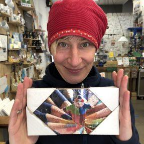 """Jannis Miniaturwelten - """"Just color"""" - kleines Bild 200x100mm"""