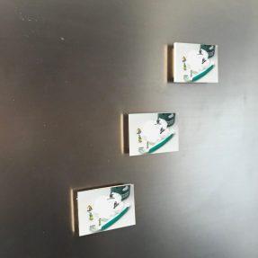Rasierschaum 6x4 Magnet