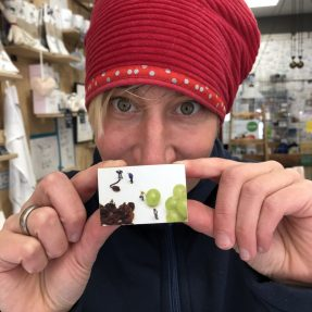 """Jannis Miniaturwelten - """"Die Rosinen-Aufpumper"""" - Magnet"""