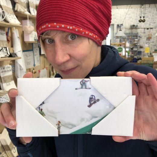 Snowboarder Bild klein