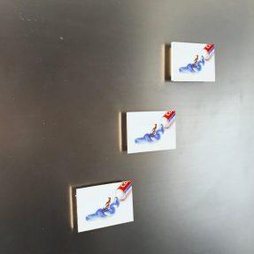 Zahnpasta 6x4 Magnet