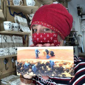 """Jannis Miniaturwelten - """"Papaya-Emergency"""" - kleines Bild 200x100mm"""