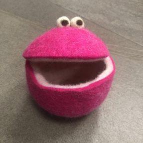 Filzbar - Quakis mittel/pink