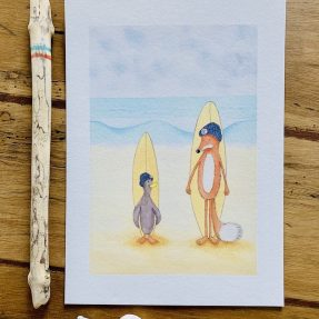 Nadine-Roeder-Illustration-Surfing-Animals-Club-Philippe-and-Gaston