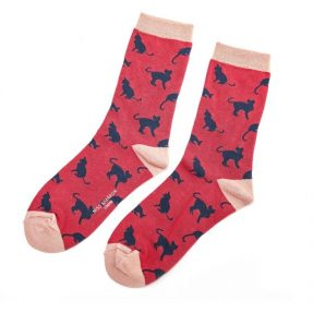 miss-sparrow-socken-bamboo-cats-red