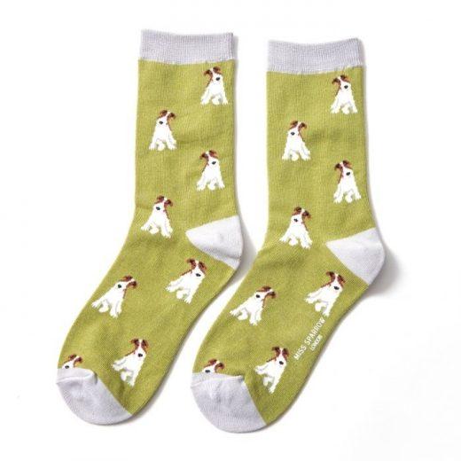 miss-sparrow-socken-bamboo-fox-terrier-olive