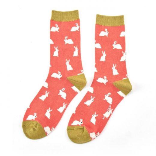 miss-sparrow-socken-bamboo-rabbits-orange