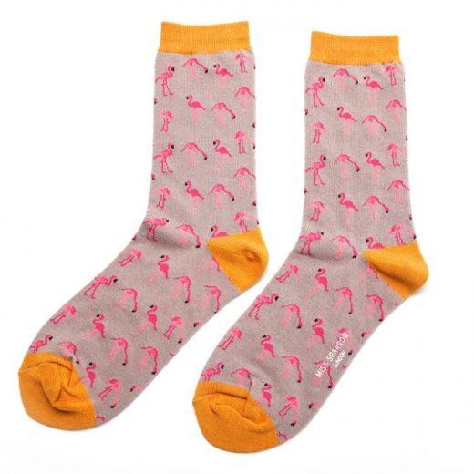 miss-sparrow-socken-bamboo-wild-flamingo-grey