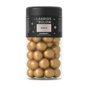 "Lakrids by Bülow - Gold - ""Raspberry"" Regular 295g"