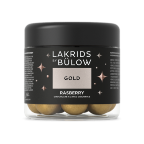 "Lakrids by Bülow - Gold - ""Raspberry"" Small 125g"