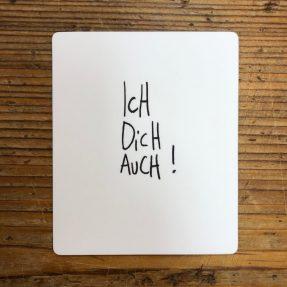 "eDITION GUTE GEISTER – Magnet - ""Ich dich auch"""