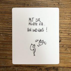 """eDITION GUTE GEISTER – Magnet - """"Hin und weg"""""""
