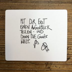 """eDITION GUTE GEISTER – Magnet - """"Augenblick teilen"""""""