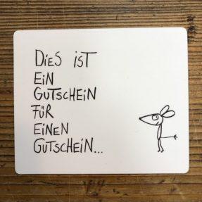 """eDITION GUTE GEISTER – Magnet - """"Gutschein"""""""