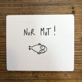 """eDITION GUTE GEISTER – Magnet - """"Nur Mut"""""""