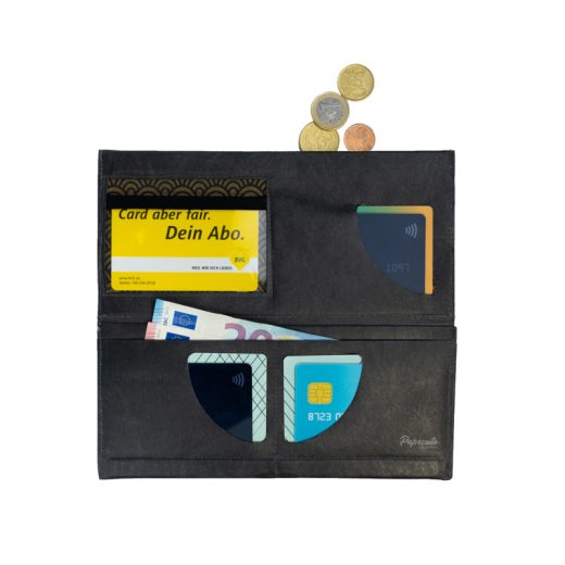 PPC_Clutch_Wallet_JustBlackGold_open_front