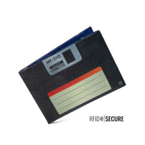 "Paprcuts - Portemonnaie RFID Secure ""Floppy Disc"""