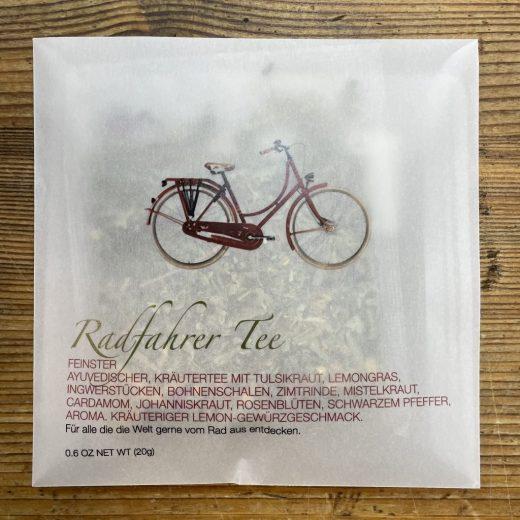 Radfahrer Tee