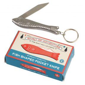 """Rex London """"Taschenmesser und Schlüsselhänger Fish"""""""